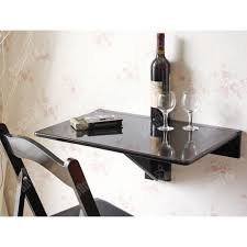 Sobuy Fwt03 Sch Table Murale Rabattable Table De Cuisine Pliable
