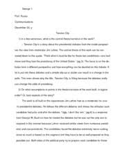 the devil wears prada book analysis essay prof russo 5 pages tension city book analysis essay