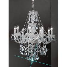 monticello 8 light chandelier finish gold plated crystal trim swarovski elements