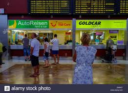Car Desks Car Hire Company Sales Desks At Tenerife Sur Airport Canary