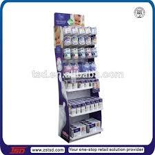Retail Product Display Stands TSDM100 Custom baby shop pos floor feeding bottles display rack 77