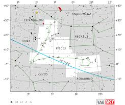 Pisces Constellation Star Chart Pisces Constellation Facts Myth Brightest Stars And Deep