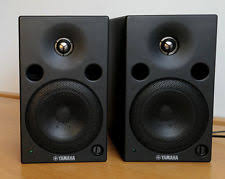 yamaha ns10. 2 x yamaha msp5 powered active monitor speakers (pair) - msp 5 ns10 yamaha ns10