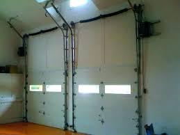 no headroom garage door opener low clearance garage door on doors ceiling opener zero headroom