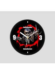 wall clocks mafia clocks machine skull mafia wall clock