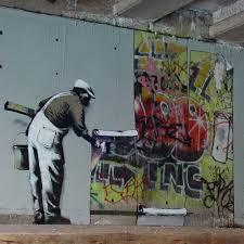Banksy VS. King Robbo [Banksy]