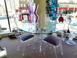 living wonderful round acrylic dining table 21 kitchen and chairs room tables dinette sets glass set