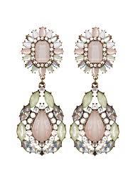 pink statement earrings jewel drop earrings pink chandelier earrings 22