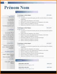 resume model word model resume sample cv template curriculum model cv word modele de cv word 879