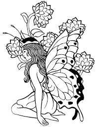 New free coloring pages stay creative at home with our latest. Printable Adult Coloring Pages Fairy Coloring Home