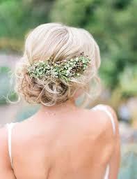 Chignon Fleur Mariage Bohème