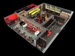 Дипломный проект по дизайну интерьера Помощь   restourant 8