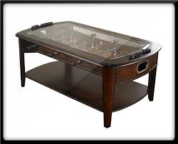 $549.00 Play foosball while drinking your coffee! The Foosball Coffee Table  by Chicago Gaming is