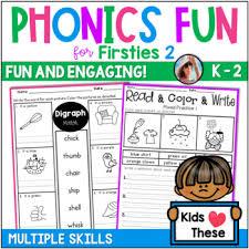 Get free phonics worksheets for kindergarten. Phonics Worksheets No Prep Printables By Carrie Lutz Tpt