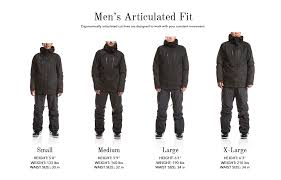 leather jacket size chart size charts for 686 apparel