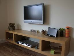 Floating Tv Stand Cabinet Oak Wood Floating Tv Stand With Laminate Wood Flooring