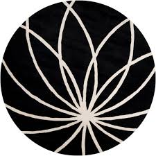 artistic weavers michael black 4 ft round area rug