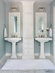 bathroom pedestal sinks. His And Her Pedestal Sinks, Transitional, Bathroom, Colorado Homes \u0026 Lifestyles Bathroom Sinks