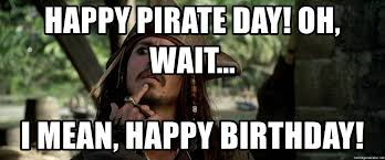 Image result for captain jack sparrow happy birthday images