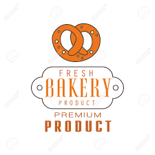 Fresh Bakery Product Premium Product Logo Template Bread Shop