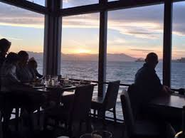 Chart House Sausalito Sunset View From Our Booth At Chart House Picture Of Chart