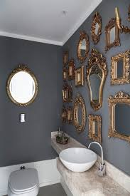 25 Best Eclectic Bathroom Design Ideas | Gold framed mirror, Frame mirrors  and Mirror mirror