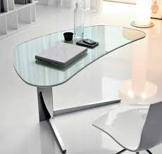 clear office. Exellent Office Unique Shaped Clear Office Desk Throughout Clear Office C