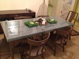 Antique Door Dining Room Tables