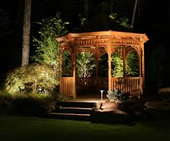 appealing large outdoor light fixtures large outdoor hanging lights outdoor lamp lighten on tree and wooden gazebo and grass and tree and stairs