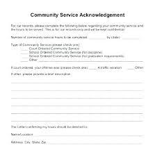 Customer Form Template Volunteer Log Form Template Free Community Service Customer Forms