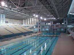 Olympic Swimming Pool a few people are training ubulin21 Flickr