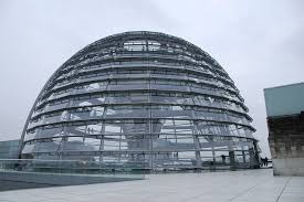 Dome, Glass, Architecture, Modern, Parliament, Berlin