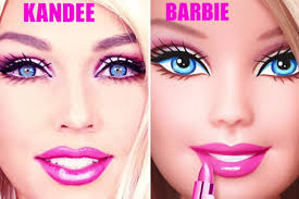 barbie transform yourself into a human doll in less than10 minutes you
