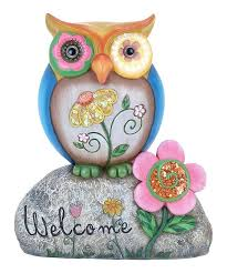 outdoor owl statue popular of owl garden decor owl garden statue garden figurines i want stone garden owl statues
