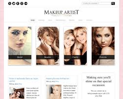 makeup artist wordpress theme