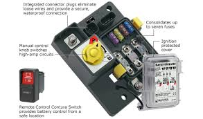 the safetyhub 250 fuse block remote battery switch blue sea the safetyhub 250 fuse block remote battery switch blue sea systems
