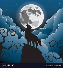 wolf howling at the moon.  Wolf Silhouette Wolf Howling At The Moon Vector Image Intended Howling At The Moon L