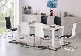 Esstisch Stühle Weiß Chrom Reizvoll Ideen Benivory
