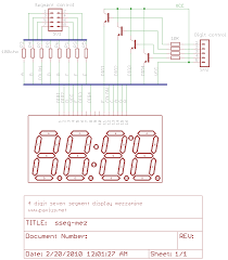 rotary encoder based cooking timer schematics in eagle and images main board schematic display mezzanine board schematic