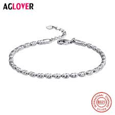 <b>AGLOVER 100</b>% 925 <b>Sterling Silver</b> Snake Chain Bangle & Bracelet ...
