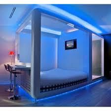 futuristic bedroom decorating ideas