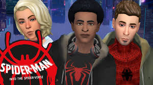 SPIDER-MAN: INTO THE SPIDER-VERSES | Sims 4 Create A Sim - YouTube