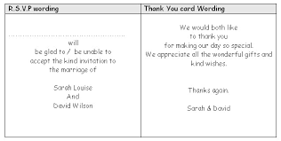 thank you card examples wedding thank you note wording card absolute examples work template