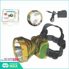 Đèn pin đeo đầu siêu sáng VegaVN / đèn pin đeo trán hà nội (Rằn ri) - Đèn  pin đội đầu siêu sáng , đèn đội đầu, đèn đeo đầu, đèn đeo