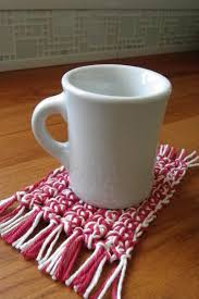 free mug rug crochet pattern quick easy valentine s gift you can crochet this quick