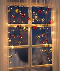 Details Zu Lichtervorhang Lichterkette Fenster Kugeln Fensterdeko Weihnachtsbeleuchtung Led