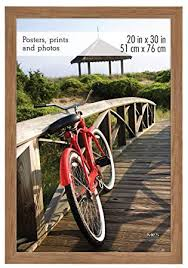 mcs 20x30 inch museum poster frame um oak woodgrain 68862