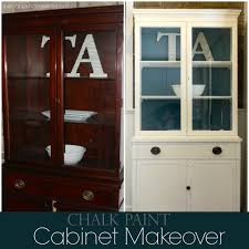 chalk paint furniture before and afterDIY Hutch Chalk Paint Makeover  The Happy Housewife  Home