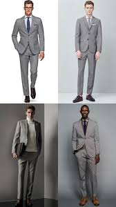 Light Grey Suit At Night The Types Of Suit Every Man Should Own Fashionbeans