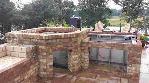 stunning outdoor brick kitchen designs  for kitchen designs